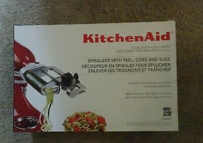 KitchenAid Stand Mixer Attachment Spiralizer with Peel, Core And Slice