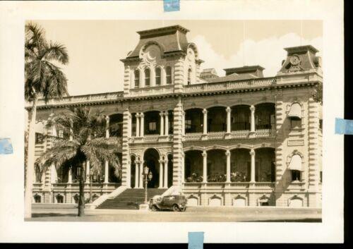 1940 Iolani Palace, Honolulu, Hawaii Photo size 7 x 5