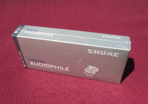 Shure M97xE Audiophile Phono Cartridge ... SEALED / NEW !!!
