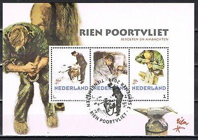Postset  3012-D-26 Rien Poortvliet - Beroepen en ambachten met speciaal stempel