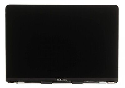 """LCD Display Assembly - New - Space Gray - 2018 A1989 13"""" MacBook Pro"""