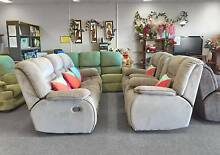 SOLD MORE COMING - LUXURY COMFORT ALL 4 RECLINER 3X1X1 sofas set Belmont Belmont Area Preview