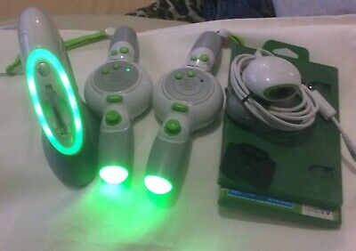 Leap TV Set Game and Learning System Bundle (Tested and Working), Bid Now, used for sale  Shipping to Nigeria