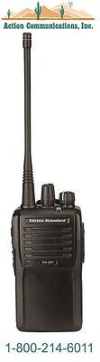 New Vertexstandard Vx-261 Uhf 403-470 Mhz 5 Watt 16 Channel Two Way Radio
