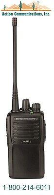 New Vertex Standard Vx 261  Vhf 134 174 Mhz  5 Watt  16 Channel Two Way Radio