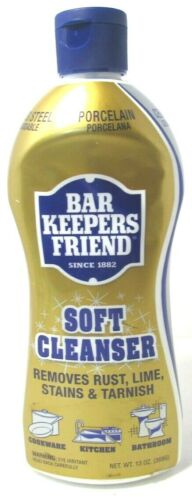 Bar Keepers Friend Soft Cleanser 11600 13 Oz. New/Sealed, FREE SHIPPING