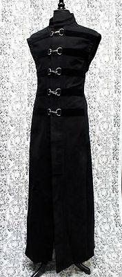 SHRINE HELLRAISER VICTORIAN GOTH PIRATE GOTHIC STEAMPUNK MEDIEVAL COAT JACKET  (Steampunk Pirate Coat)