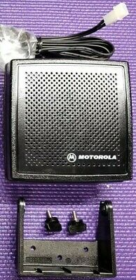 Motorola Two Way Speaker New APX XTL Spectra Maratrac MINT Tested. Buy it now for 49.0