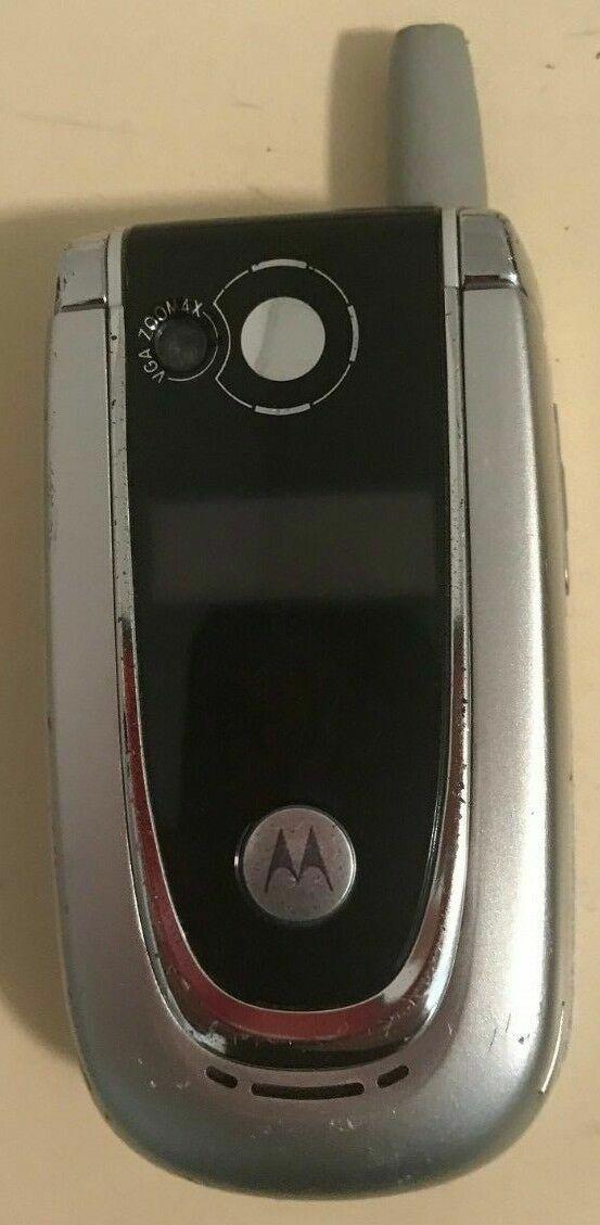 Motorola V series V600 - Silver (T-Mobile) Cellular Phone