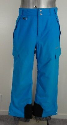 Quiksilver 5000 men's insulated loose-fit snowboard pants blue S