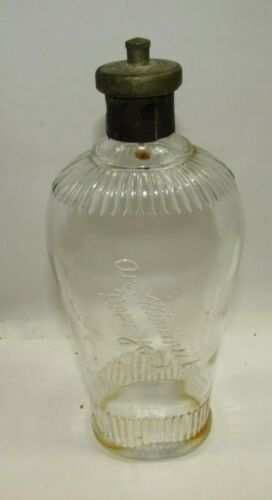 Antique AR Winarick Hair Tonic Bottle Barber Shop w/Original Top