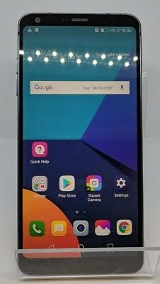 "LG G6 32GB Astro Black 4G Unlocked 5.7"" Smartphone"