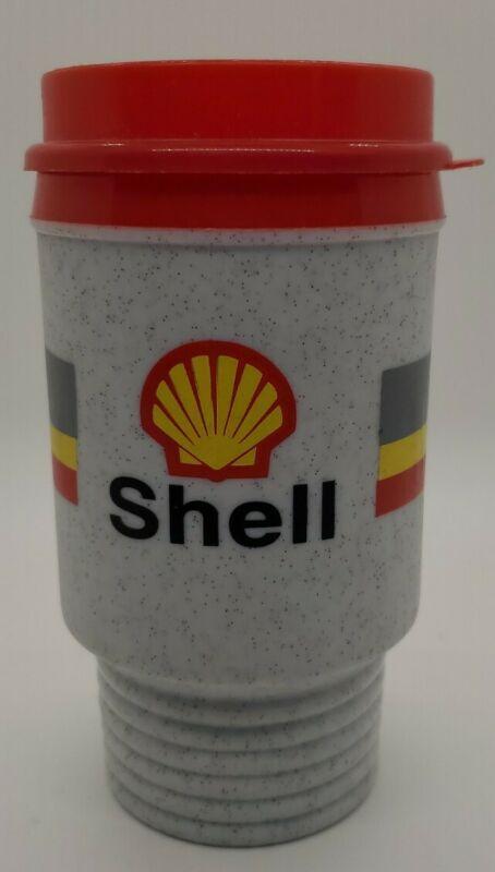 Aladdin SHELL GAS & OIL Insulated Travel Drink Coffee Mug Cup