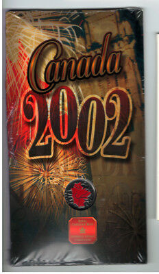 2002 - Canada Day 25 Cent From Royal Canadian Mint (SEALED)!! #I0712