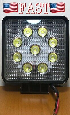 27W LED Work Light Flood Square White Lamp Off Road For Jeep UTV Truck ATV - NEW for sale  Shipping to Canada