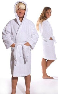 Kids Robe Bathrobe, Cotton Terry Bath robe for Boys and Girls monogram available