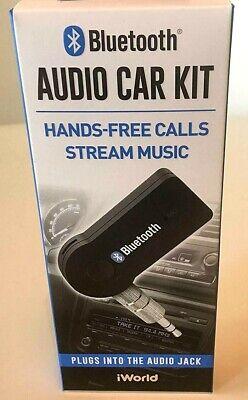 2 pk Hands-Free Bluetooth Audio Adapter by iWorld