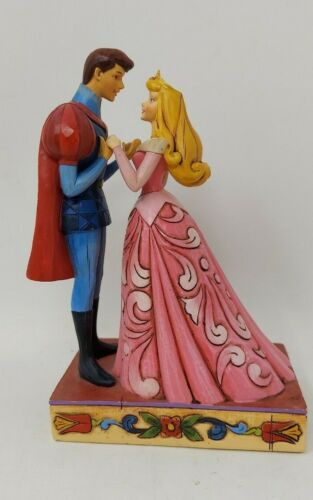 "Jim Shore Disney Sleeping Beauty Aurora Prince Phillip ""Finding True Love"""