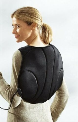 Rückenmassage Weste, Massage Gürtel, Massagegerät, 12Watt mit Wärmefunktion #31#