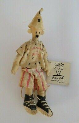 7up Dankin vintage Fido Doody Doll Clown Dido mascot plush