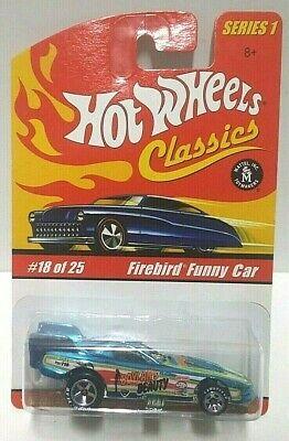 2004 Hot Wheels Classics Series 1 Firebird Funny Car Boylan's Beauty Blue
