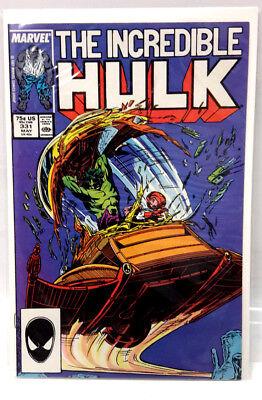 #331 INCREDIBLE HULK 1980s Marvel Comic Book-  Very Fine/NM  - 1980s Incredible Hulk