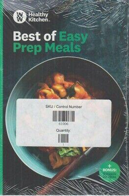 Weight Watchers Healthy Kitchen Best of Easy Prep Meals & 5 Mason Jar