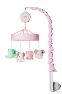 Crib Mobile Elephant Parade - Cloud Island™ Pink
