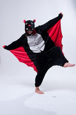 Chauve-Souris D'Halloween Onesiee Kigurumi Costume Déguisement Sweat - Chauve Souris Halloween