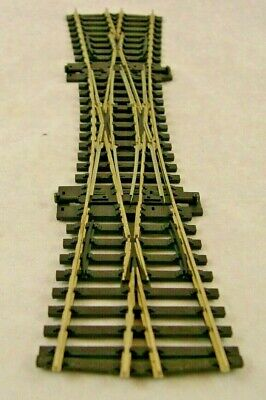 PECO Streamline  Double X HO scale Switch (Turnout) Track Code 100 Scale Turnout Switches