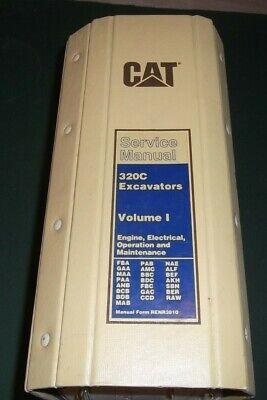 CAT CATERPILLAR 320C EXCAVATOR SERVICE MANUAL VOLUME I