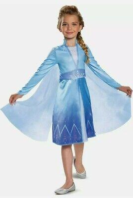Disney's Frozen 2 Elsa Deluxe Girls Child Costume Size Small 4-6X Halloween H-2