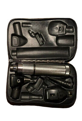 Welch Allyn Otoscope Ophthalmoscope Diagnostic Set 3.5v Handle