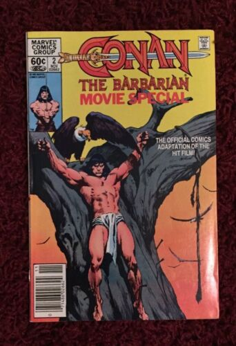 Conan the Barbarian Movie Special Vol 1 No. 2 November 1982 Marvel Comics New