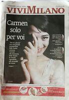 Carmen Consoli In Copertina Di Vivi Milano Marzo 2003 Corriere Della Sera -  - ebay.it