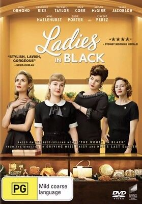 LADIES IN BLACK DVD (2018) NEW & SEALED- FREE POSTAGE! REGION 4