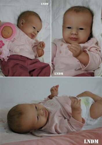 "Realborn Laila Awake Prototype~ LNDM( Marie Gambus-Metayer) 18"" Sweet Baby"