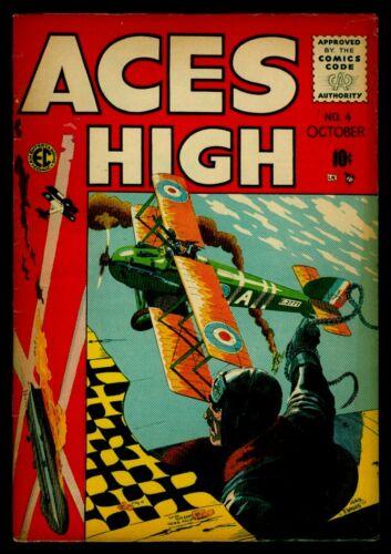 EC Comics ACES HIGH #4 VG/FN 5.0