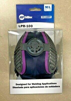 Miller Lpr-100 Half Mask Respirator-mediumlarge
