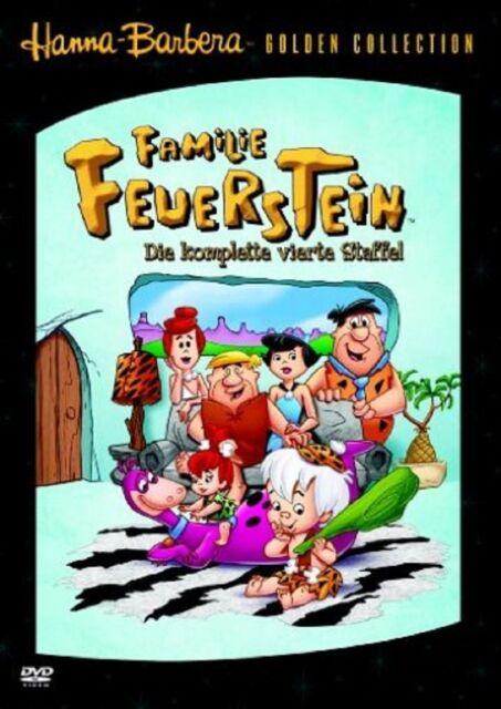 Familie Feuerstein - Season/Staffel 4 NEU OVP * 5 DVDs * Amaray * The Flinstones