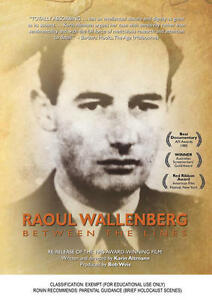 New DVD** RAOUL WALLENBERG: Between The Lines