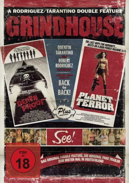 DVD * Grindhouse: Death Proof & Planet Terror * NEU OVP