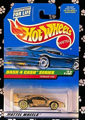 Hot Wheels FERRARI F40 DASH 4 CASH SERIES BENT
