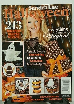 Sandra Lee Halloween Fun Food Recipes Costume Snack Spirit 2016 FREE SHIPPING JB