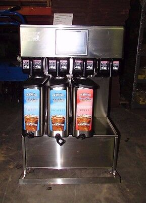 Schroeder 927-0008 Quad 4 Commercial Tea Maker Brewer Dispenser Xlnt