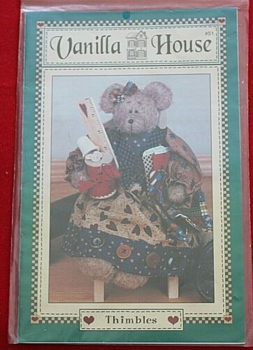 Thimbles Bear Pattern By Vanilla House