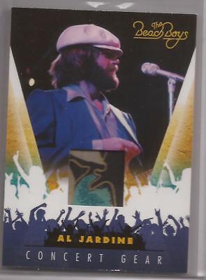 Panini 2013 The Beach Boys Al Jardine Concert Gear Costume Relic 18 (Beach Boys Costume)
