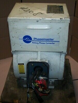 Kay Industries 2 Hp Rotary Phase Converter 00-182t-90 220440
