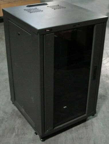Middle Atlantic Equipment 18U Rack w/ Front Glass Door