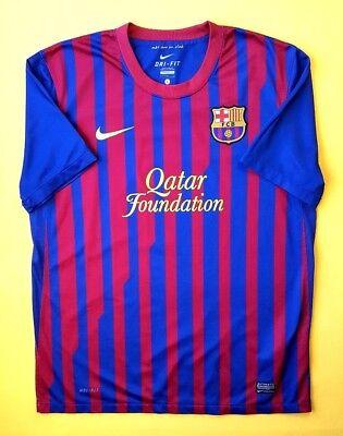 02bbbd82fec 5 5 Barcelona jersey large 2011 2012 home shirt 419877-486 soccer Nike ig93